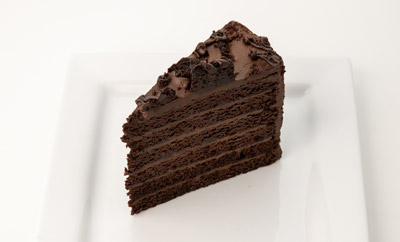 Colossal Double Chocolate Cake